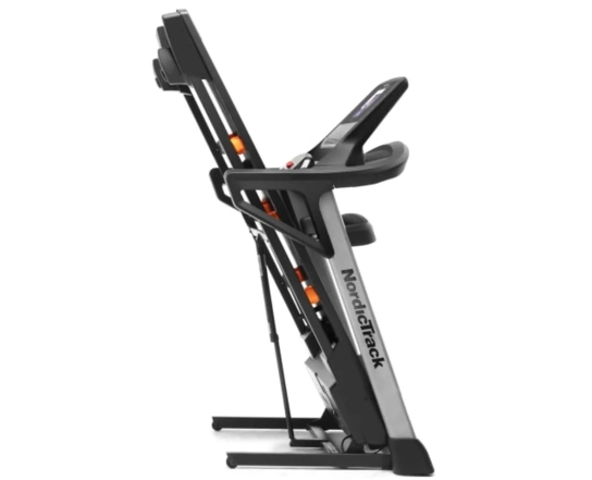 Folded NordicTrack T 7.5 S Treadmill
