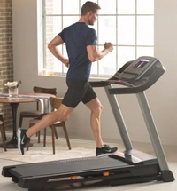 Nordictrack T 6.5 Si treadmill walking for home use